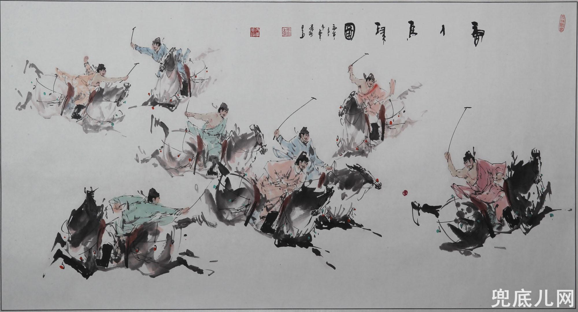 《我们新疆好地方》国画大展 子柔李刚作品欣赏