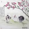张永权兔年画兔作品欣赏_02