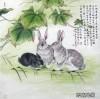 张永权兔年画兔作品欣赏_06