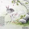 张永权兔年画兔作品欣赏_25