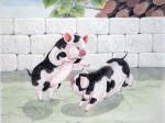 张永权生肖:猪年画猪(2007)