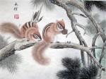 张永权生肖:鼠年画鼠(2008)