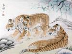 张永权生肖:虎年画虎(2010)