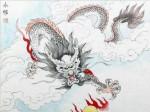 张永权生肖:龙年画龙(2012)