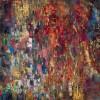 《花城》(纸本.蜡质.油彩)50x50cm--2011.9