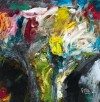 《莲池回源》(纸本.蜡质.油彩)50x50cm--2011.9