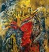 《珍珠珊瑚》材质:(纸本.蜡质.油彩)2010年