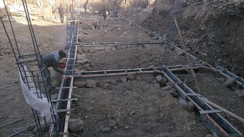 塔巴村幼儿园建筑工地