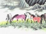 张永权生肖:马年画马(2014)