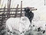 张永权生肖:羊年画羊(2015)